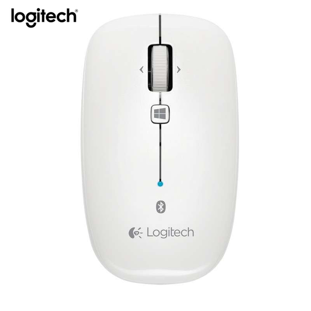 0cd9633b40f Logitech M558 Bluetooth Wireless Mouse Gaming Mice Original 1000dpi Optical  Ergonomic Computer Mouse for MAC
