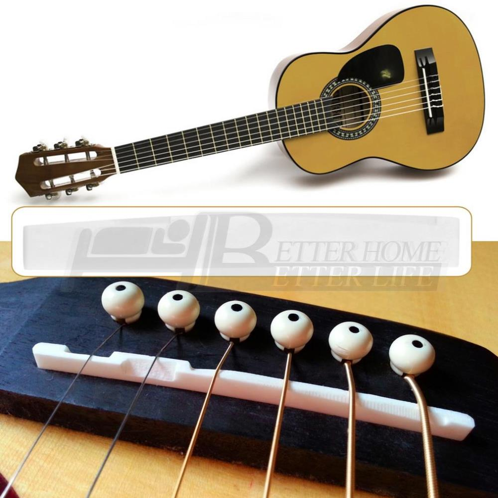new arrival buffalo bone bridge saddle replacement guitar parts for 6 string acoustic guitar in. Black Bedroom Furniture Sets. Home Design Ideas