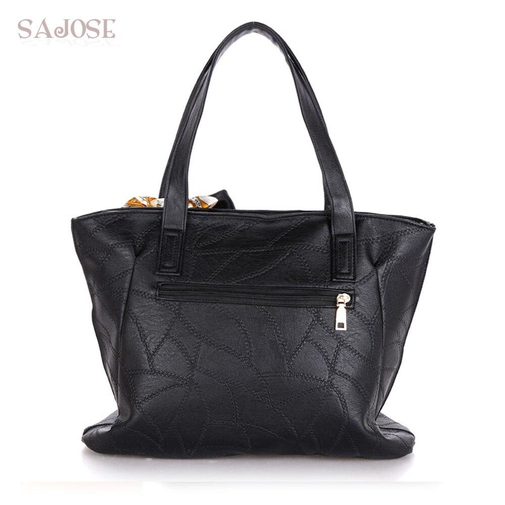 Damen Taschen PU Leder Mode Handtaschen Damen Schulter Messenger Tote - Handtaschen - Foto 4