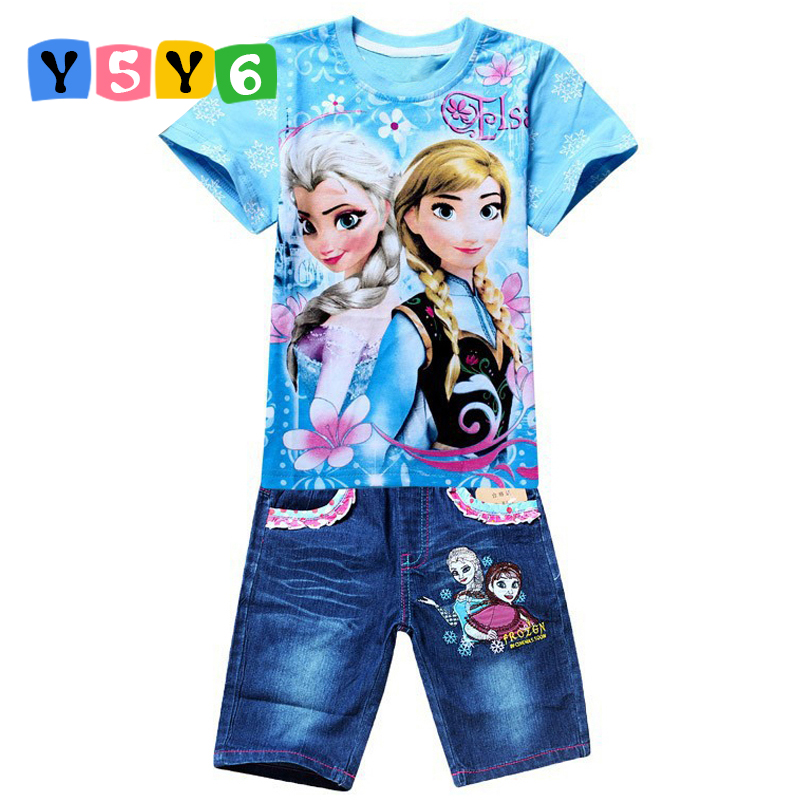 Retail New 2018 Boys Summer Clothing Sets Children Cartoon Cotton Short Sleeve T Shirt+ Jeans 2pcs Suit Kids Clothes In stock bear leader autumn children boys clothes sets long sleeve t shirt jeans 2pcs kids suits cartoon car pattern boys clothing sets