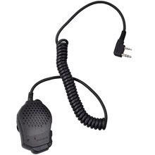 Newest Special Microphone Original Dual Push-To-Talk PTT Speaker for Baofeng UV-82 UV-89 Pofung walkie talkie