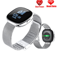 Smart Watch Women Pedometer Heart Rate Watch Sports Fitness Tracker IP67 Waterproof Ladies Digital Smartwatch for iPhone Android