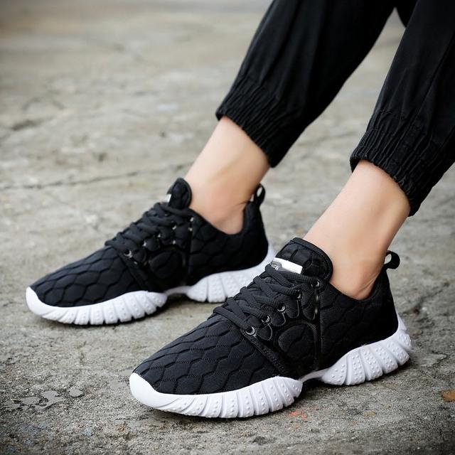 2016 New Hot Homens Homens Super Leves Sapatos Casuais Respirável Confortável, Sapatas Dos Homens de Qualidade da marca Livre Sapatos Casuais Y3
