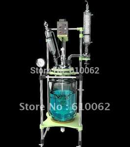 Motor-Jacketed Reaction-Kettle Glass Chemical-Reactor Double-Neck 50L Proof Explosion