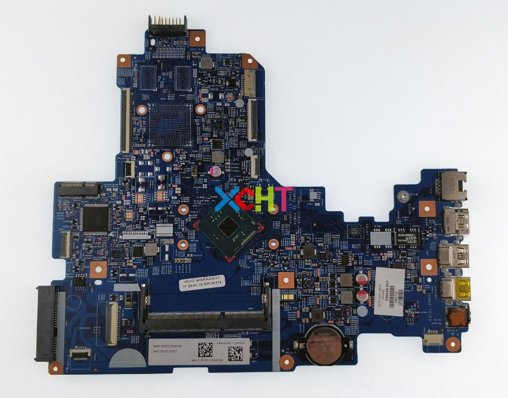XCHT for HP NoteBook 17 17 X 17T X000 Series 856695 601 856695 001 448.08D01.0011 UMA N3060 Laptop Motherboard Mainboard Tested-in Laptop Motherboard from Computer & Office