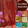 1 Yard High Quality Sparkly Embrodiery Mesh Lace Sequin Cloth Gold Silver Sequin Fabric For Clothes