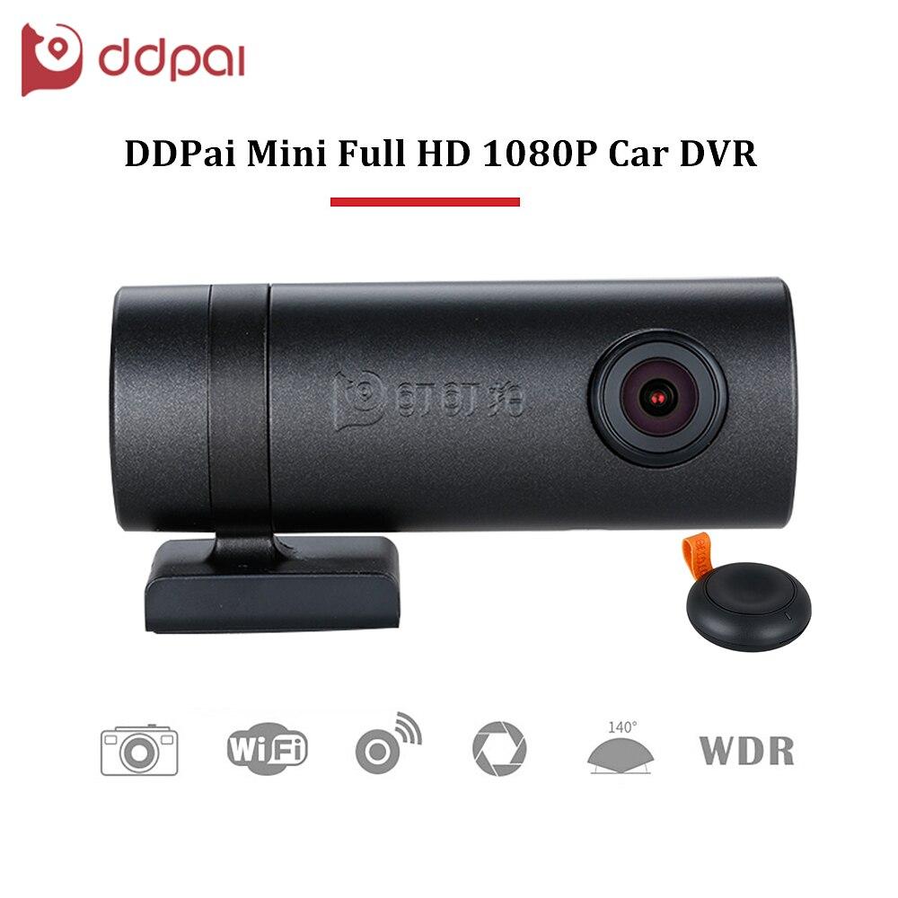 ddpai Mini HD1080P Car DVR Wifi WDR Rotatable Lens Camera Digital Video Recorder Dash Road Camcorder Night Vision for Phone APP