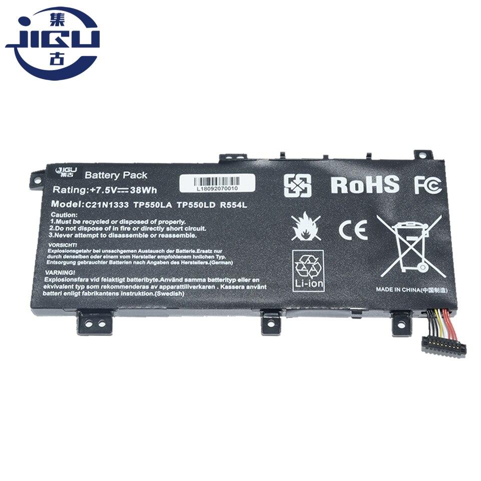 JIGU 4CELLS Laptop Battery 0B200-00860400 C21NI333 C21N1333 FOR ASUS TP550L TP550LA TP550LD TP550LJ