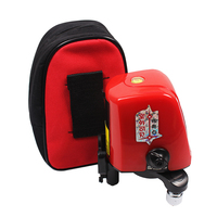 AK435 360 Degree Self Leveling Cross Laser Level 1V1H Red 2 Line 1 Point Rotary Horizontal