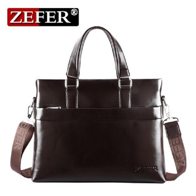 ZEFER 2016 New Army Style Men's Messenger Bags Vintage Crossbody Bag Men Travel Shoulder Bag Fashion Postman Briefcase