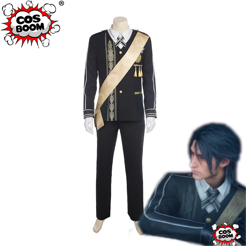 COSBOOM Final Fantasy XV Noctis Lucis Caelum Wedding Suit Cosplay Costume Adult Halloween Carnival Cosplay Costume for Men