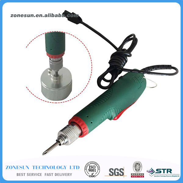 цена на ZONESUN New Manual Electric Capping Machine Screw Capper Plastic Bottle Capping Machine for 10-50mm