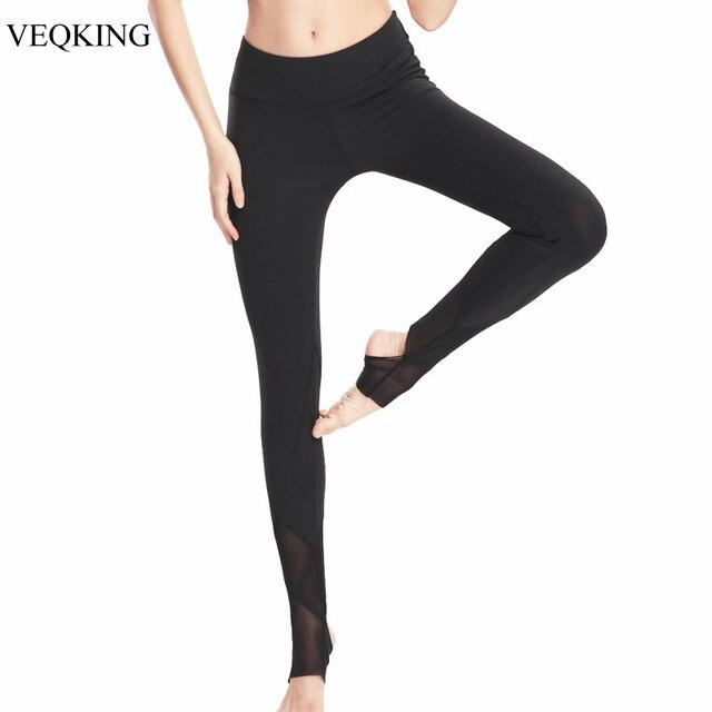 VEQKING Haute Élastique Yoga Pantalon e616aa869b6