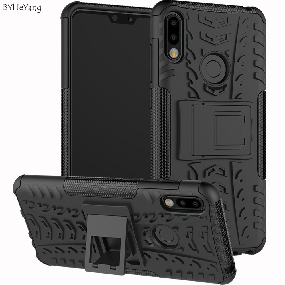 zb631kl Case For Asus Zenfone Max Pro M2 ZB631KL Cover Dual Layer Armor Silicone Case Zenfone Max Pro (M2) ZB631KL Holder Stand