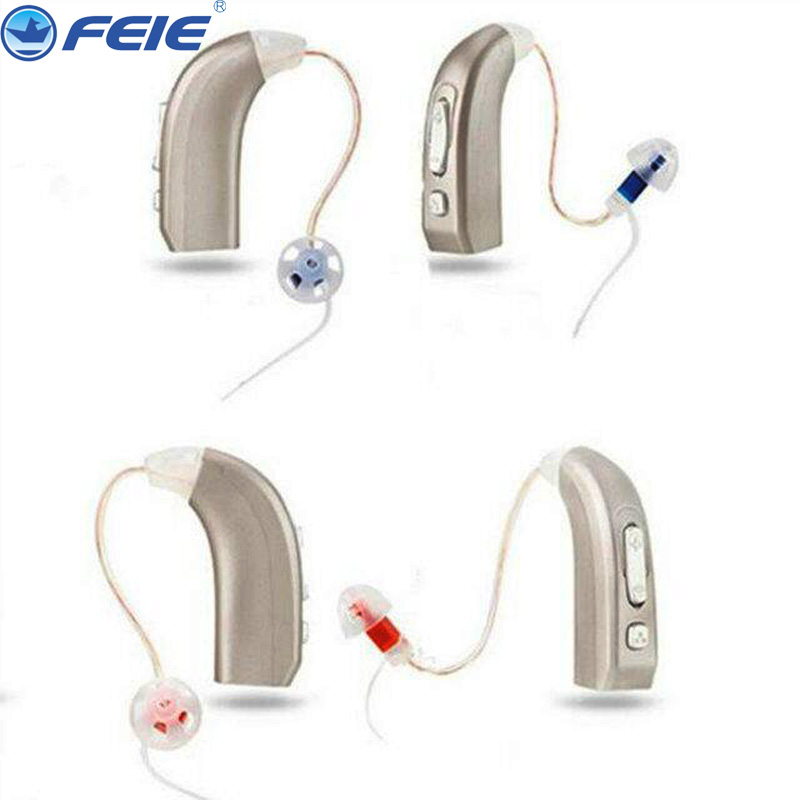 USB Hearing Aid Rechargeable Digital Hearing Aids Hearing Amplifiers Mini Earphone Wireless Headphone MY-33 2 Pieces/Lots A Pack