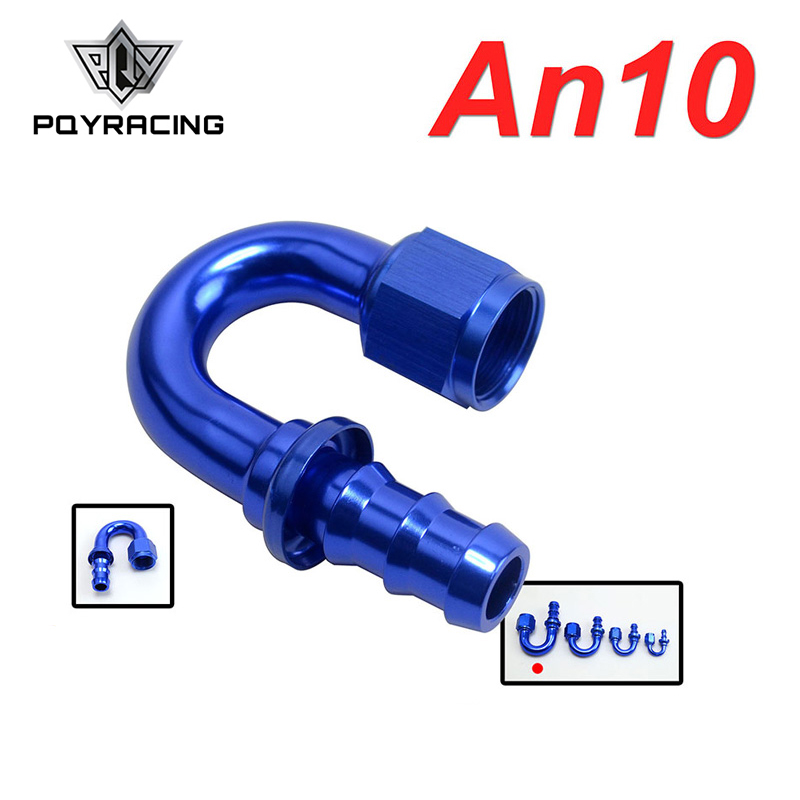 Brave Pqy - An10-10an 10an 180 Degree Push On Lock Socketless Hose End Fitting Adapter Pqy-sl2018-10-011 Buy Now