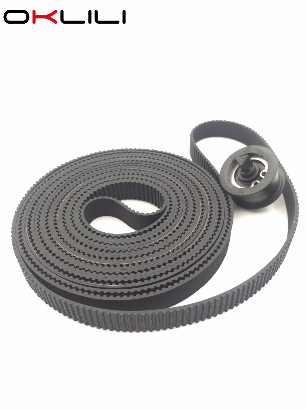 C7770-60014 Carriage Belt 42 B0 Size with Pulley for HP DesignJet 500 500PS 800 800PS 510 510PS 815 CC800PS Plus 820 815MFP free shipping original new c7770 60274 carriage assembly trailing cable kit b0 for hp500 500ps 800 800ps 815 820