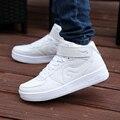 Все Белые Женщины Обувь Для Ходьбы Унисекс Зимние Ботинки Моды Теплый С Мехом Замшевые Сапоги Обувь L Ботильоны