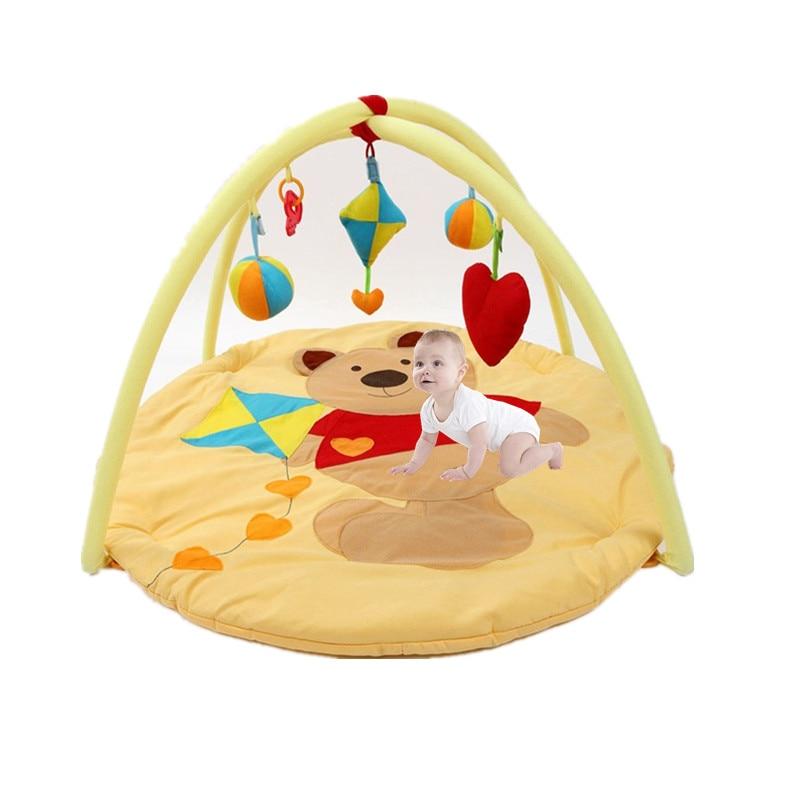Baby Play Mat Barn Rug Golv Mat Pojke Flicka Matta Spel Pad Mat Mat - Leksaker för spädbarn