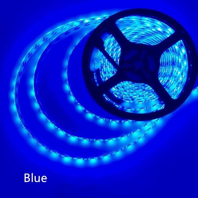 5 M/Cuộn dẫn dải 2835 Thông Lượng Sáng Cao Hơn Nhiều So Với Tuổi 3528 5630 5050 SMD LED Strip ánh sáng 60 LEDs/M 12 V đèn Chuỗi Trang Trí Nội Thất