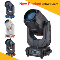 4pcs/lot New 260W Moving Head Beam Light Professional Lighting For Stage Decoration