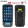 5 0 дюйма 1D/2D QR сканер штрих-кода NFC wifi PDA Android 7 0 5 дюймов беспроводной портативный штрих-код Rearder ручной pos-терминал