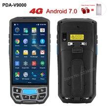 5.0 אינץ 1D/2D QR ברקוד סורק NFC WIFI PDA אנדרואיד 7.0 5 אינץ אלחוטי נייד בר קוד Rearder כף יד קופה מסוף