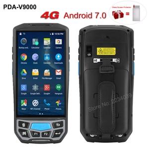 Image 1 - 5.0 inç 1D/2D QR barkod tarayıcı NFC WIFI PDA Android 7.0 5 inç kablosuz taşınabilir barkod okuyucu el POS terminali