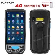 5.0 pouces 1D/2D QR code-barres Scanner NFC WIFI PDA Android 7.0 5 pouces sans fil Portable Code à barres Rearder Terminal de poche