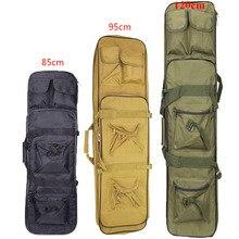 Открытый военный 85 95 120 см охотничий чехол для винтовки ружья тактический страйкбол нейлон квадратный переноска двойная защита винтовки мягкая сумка рюкзак