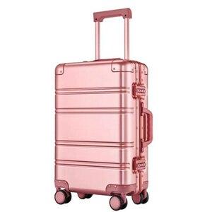"""Image 3 - CARRYLOVE 20 """"24"""" pulgadas spinner llevar en maleta de viaje Carro de cabina de aluminio equipaje rodante en la rueda"""