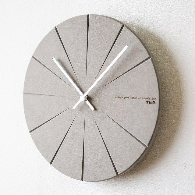 Een woonkamer wandklok namens Nordic moderne minimalistische mode ...
