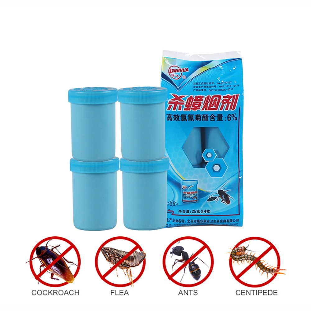 Effective Insect Smoke Insecticides Killer Pest Control Lice Flea Ant Mosquito Cockroach Fly Insect Repeller Mosquito Repellent
