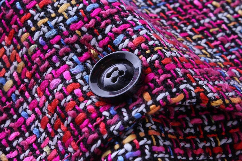 breasted Rétro Tranchée Automne Outwears Manteaux Printemps 2018 Laine Manteau Mélanges Beau De gray Single purple Femme Mince Femmes Long Black SRt67qw7
