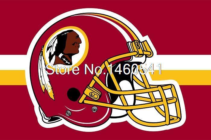 check out 28ec2 9c6f2 Washington Redskins Helmet Horizontal Strip Flag 3ft x 5ft ...