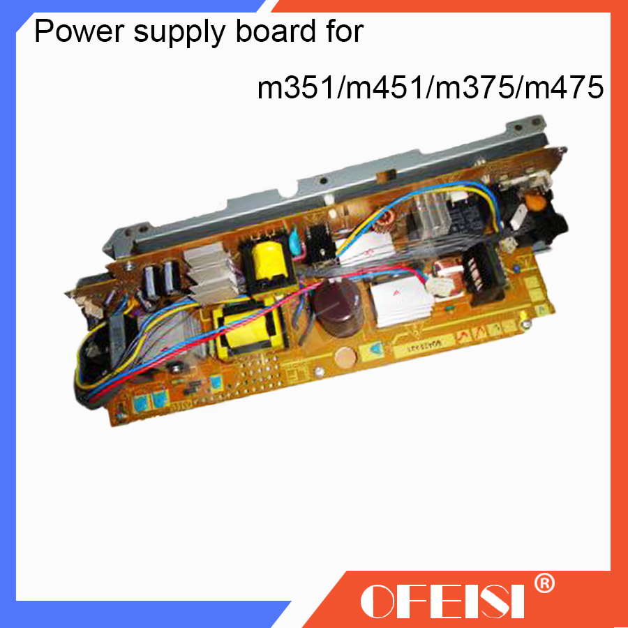 Original RM1-8035/RM1-8036/RM1-8037/RM2-8026 LaserJet Engine Control Power supply Board for HP M351/M451/M375/M475 printer parts ipl laser epilator hair removal lady lcd permanent device bikini hair trimmer machine electric depilatory depilador a laser