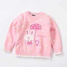 Enfants filles chandails automne Chandail pour fille enfants Tops Tricot  vêtements d hiver Chemises Vêtements De Noël bébé pull . 51a6edc4a9b