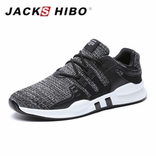 JACKSHIBO Men Running Shoes Four Season Breathable Sports