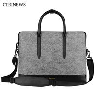 CTRINEWS Laptop Bag Shoulder Bag For Macbook Air 11 13 Case 12 15 Retina Waterproof Handbag