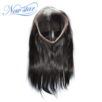 New Star 360 Lace Frontal Brazilian Straight Virgin Human Hair With Baby Hair 10 20 Inches