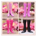 New styles for choose Colorful Assorted Casual High heel shoes boots for Barbie 1:6 Doll Fashion Cute BBI00180