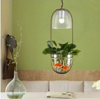 אורות תליון מנורות המודרני מינימליסטי צמחים TA10198 זכוכית מים גינה אקולוגי מסעדת קפה creative שליד המיטה