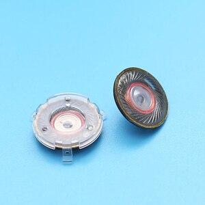 Image 3 - 14MM 32 ohm Flat Headphone Drivers Speakers DIY Magnetic Clear HiFi Loudspeakers Audiophile Speakers