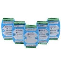 2pcs Lot 0 20MA 4 20MA Analog Input Module Current Collecting Module RS485 MODBUS Communication