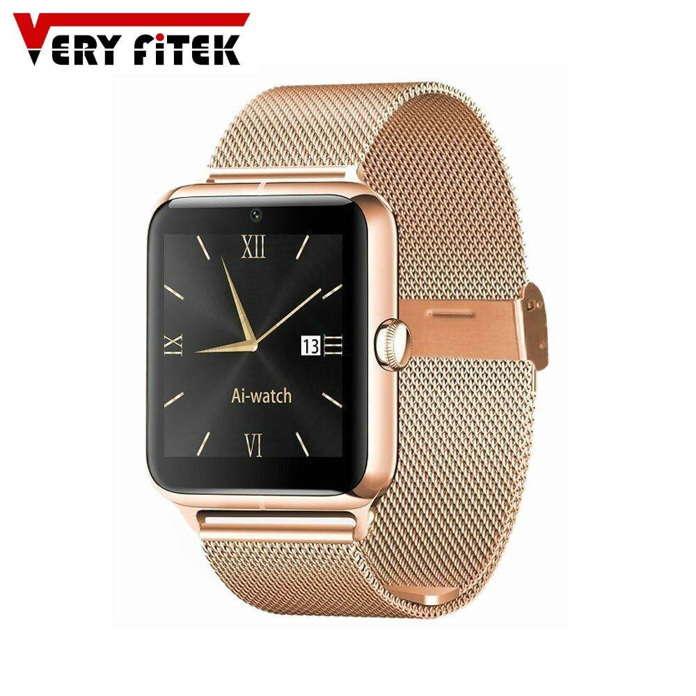 "Bluetooth 4.0 Smart Watch 1.54"" Inch Support SIM Card with 4G TF Card Pedometer NFC J50+ Wristwatch for IOS and Android Phone"