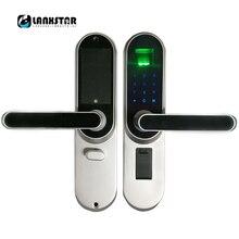 Griff Schloss Elektronische Schlösser Smart Zylinder Tür Lockset Eingangstür Intelligente Schloss Fingerabdruck Passwort Keyed Schlösser
