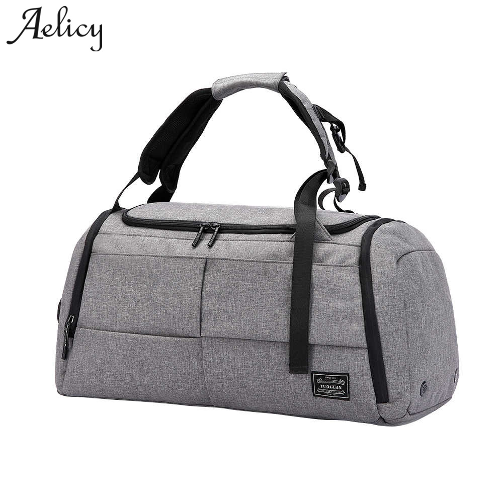 Aelicy Canvas Leather Men Travel Bags Carry on Luggage Bags multifuction Men Duffel Bags Travel Tote Large Capacity Bag 1020 augur new canvas leather carry on luggage bags men travel bags men travel tote large capacity weekend bag overnight duffel bags