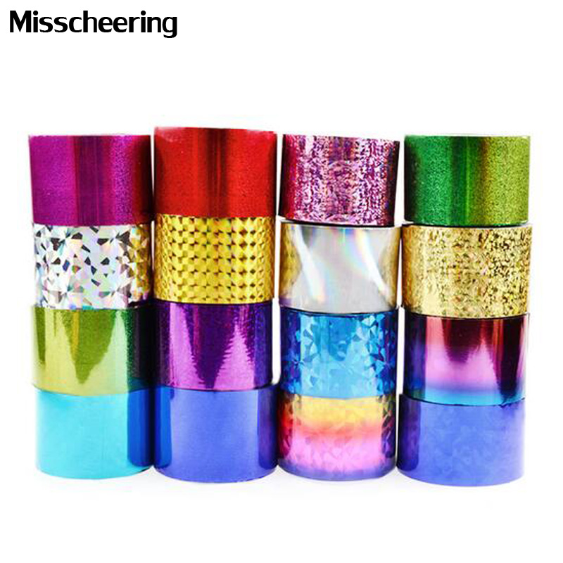 1roll 4cm*120m Fashion Nail Art Transfer Foil Sticker Paper  Star Shiny Design DIY Manicure Nail Decoration Tools 66Colors hot sale 20 sheets lot 20 4cm nail art transfer foil floral serial sexy black lace pattern nail sticker foil material diy wy188