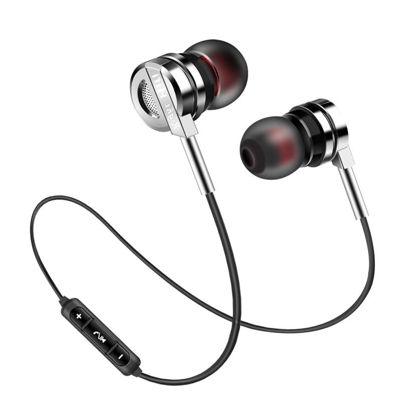 беспроводные наушники Беспроводной металлические наушники ptm BM5 наушники Bluetooth 4.2 гарнитура Super Bass Наушники с микрофоном для  наушники для телефона блютуз наушники игровые наушники