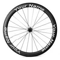 customized bicycle wheel stickers cycle bike rim decals for road bike